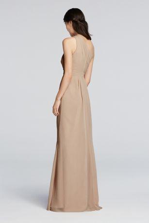bd6ff262f62 Long Sheath Simple Wedding Dress - David s Bridal. Save