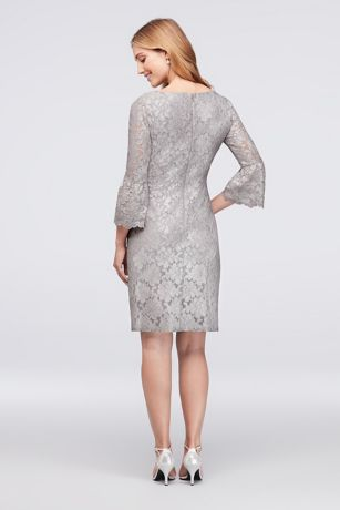 cfe33b89edf Short Sheath 3 4 Sleeves Cocktail and Party Dress - Jessica Howard. Save