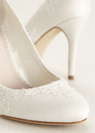 e82e34408c1 Melissa Sweet Ivory (Round Toe Lace Pump). Save