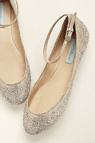09bdbe984912 Blue by Betsey Johnson Crystal Ballet Flat