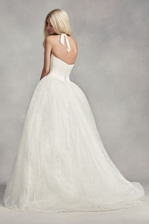 a11e6a73c67 Long Ballgown Formal Wedding Dress - White by Vera Wang. Save