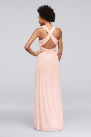 fda36d32e8 Long Sheath Beach Wedding Dress - David s Bridal. Save