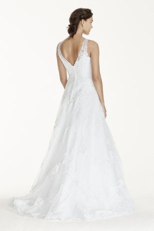 6825c675dcf2 Jewel Tank Tulle Wedding Dress with Lace Applique. WG3753. Long Ballgown  Formal Wedding Dress - Jewel. Long Ballgown Formal Wedding Dress - Jewel.  Save