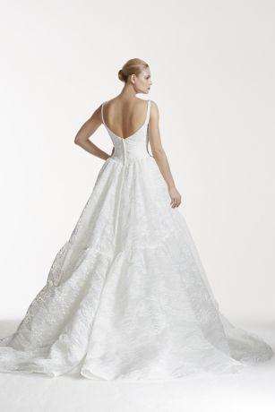 8114f82c44 Long Ballgown Modern Wedding Dress - Truly Zac Posen. Save