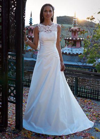 Dress David's Bridal Wg3529