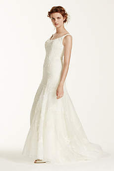 As-Is Venise Lace Tumpet Wedding Dress