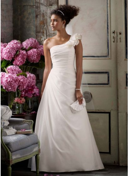 Long A-Line Formal Wedding Dress -