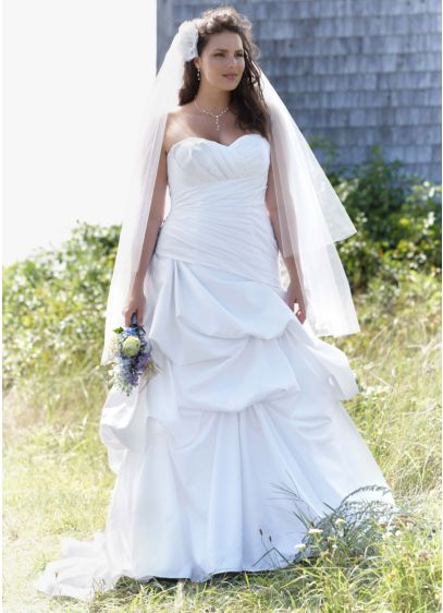 Long Ballgown Glamorous Wedding Dress -