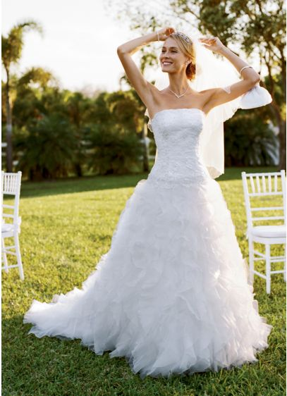 Long Ballgown Wedding Dress -