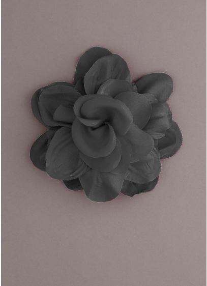 Fabric Flower Pin - Wedding Accessories