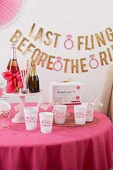 Last Fling Before the Ring Bachelorette Party Kit