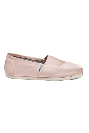 TOMS Pink Sneakers and Casual (TOMS Grosgrain Classic Slip-On Shoes)