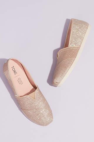 Women S Wedding Sneakers Bridal Slip On Shoes David S Bridal