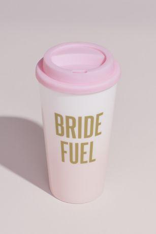 Ombre Metallic Bride Fuel Insulated Travel Tumbler