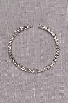 Delicate Cubic Zirconia Tennis Bracelet
