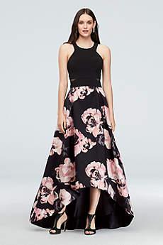 High Low Ballgown Halter Formal Dresses Dress - Xscape