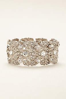 Bold Crystal  Bracelet