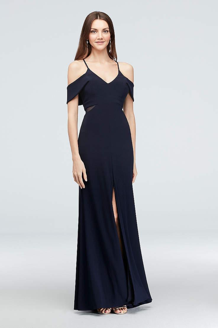 3b8699bd5f9 Long Mermaid/ Trumpet Off the Shoulder Dress - Xscape