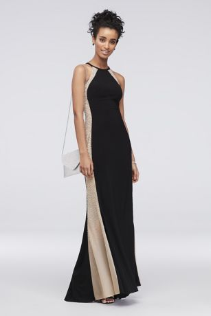 Long Sheath Halter Dress - Xscape