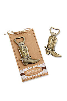 Just Hitched Cowboy Boot Bottle Opener 11186NA