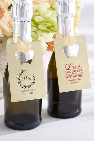 Personalized Gold Bottle Opener