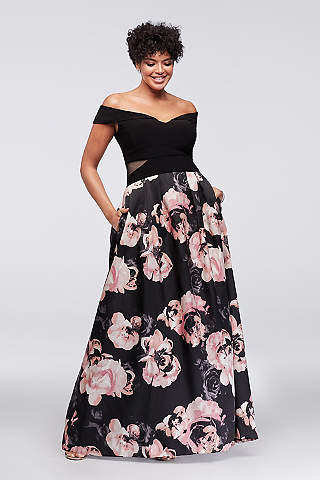 Long Ballgown Off The Shoulder Formal Dresses Dress Xscape