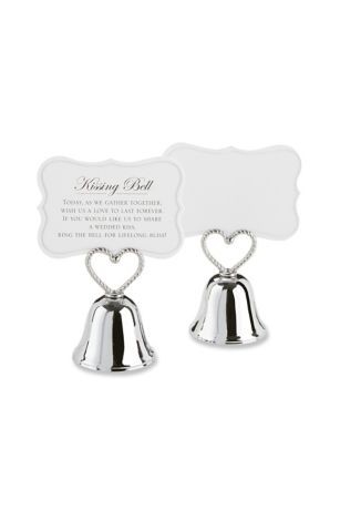Kissing Bell Place Card Holder -  Set of 24