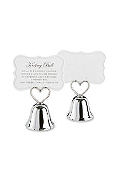 Kissing Bell Place Card Holder -  Set of 24 12006NA
