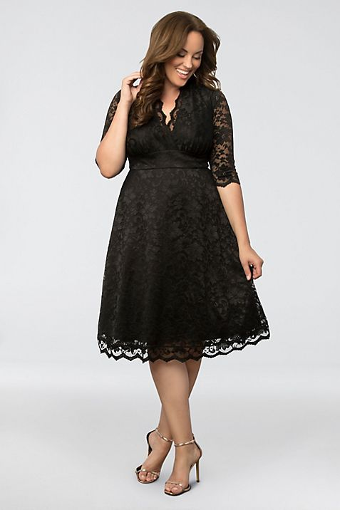 Mademoiselle Lace Plus Size Dress Davids Bridal