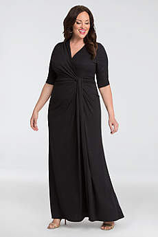 Long Fit and Flare Tank Formal Dresses Dress - Kiyonna