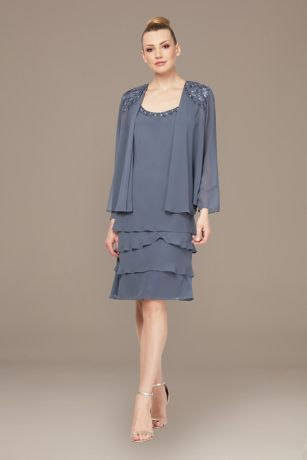 Midi Jacket Dress - SL Fashions