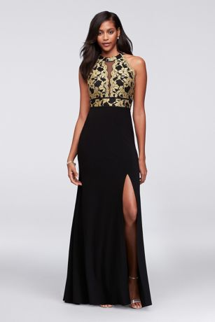 Long Black Gown Dress