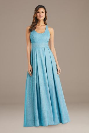 Long Ballgown Tank Dress - RM Richards