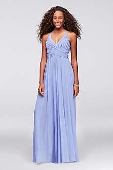 Long A-Line Spaghetti Strap Formal Dresses Dress - Haute Nites