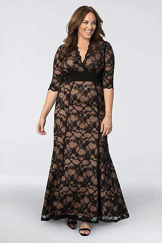 Plus Size Formal Dresses | David\'s Bridal