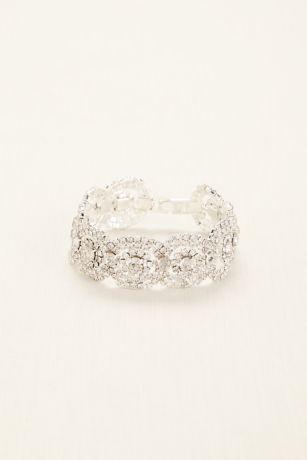 Crystal Pave Circle Bracelet