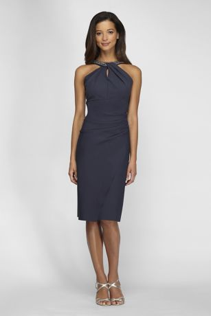 Tea Length Dress - Alex Evenings