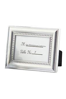 Elegant Beaded Photo Frame/Placecard Holder
