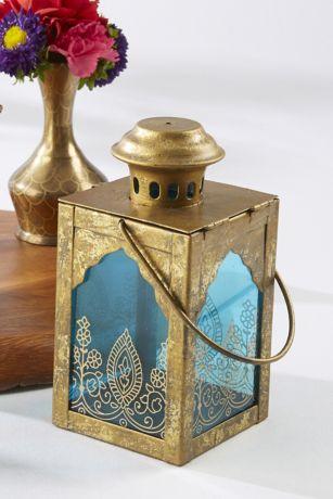 Henna-Motif Jewel Lantern Set