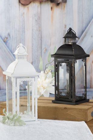 Ornate Antique Medium Lantern