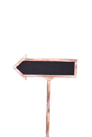 Large Chalkboard Arrow Sign