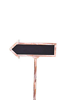 Large Chalkboard Arrow Sign 14338