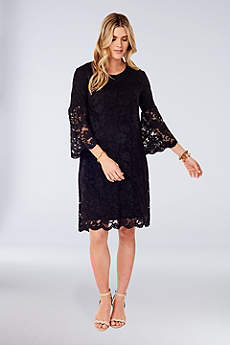 Short Sheath 3/4 Sleeves Cocktail and Party Dress - Ingrid and Isabel