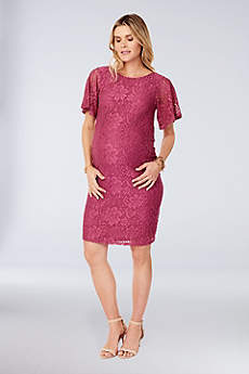 Short Sheath Short Sleeves Dress -