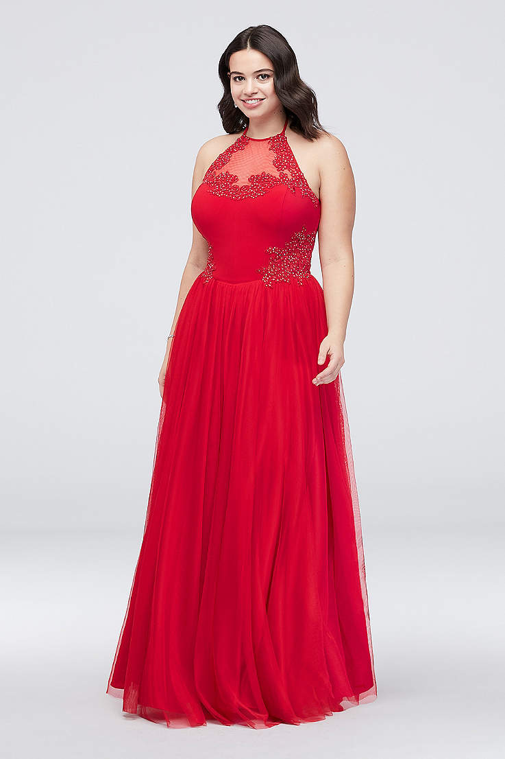 91003dfaeab3 Plus Size Prom Dresses & Homecoming Dresses | David's Bridal