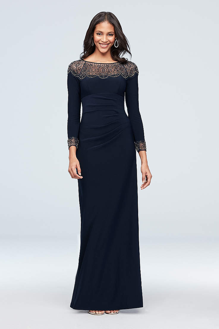 Black Mother of the Groom Dresses