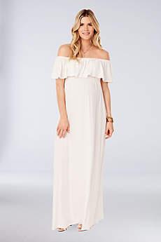 Long A-Line Wedding Dress - Ingrid and Isabel