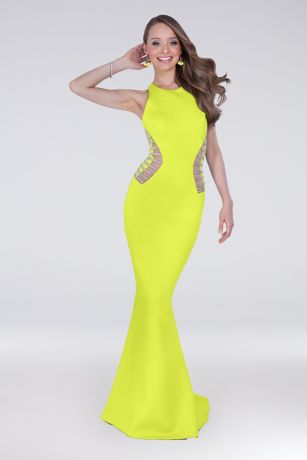 Long Sheath Tank Dress - Terani Couture