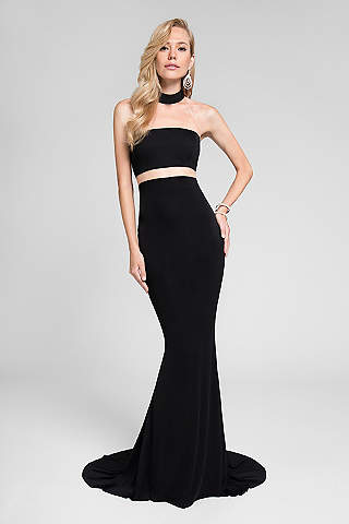 Cut Out Prom Dresses with Side Cut Outs | David\'s Bridal