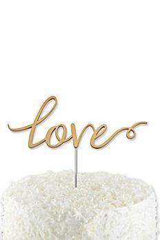 Love Cake Topper 18092NA